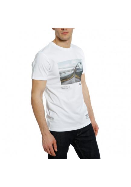 T-SHIRT ADVENTURE DREAM 601 WHITE BLACK