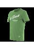 T-SHIRT PADDOCK TRACK 711 GREEN WHITE