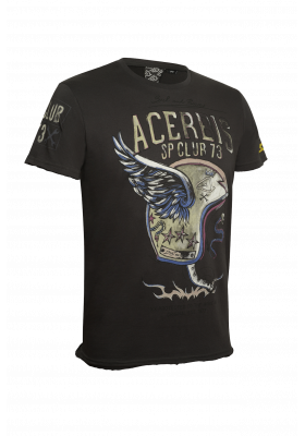 T-SHIRT SP CLUB WINGS 073 GRIGIO SCURO (0910262)