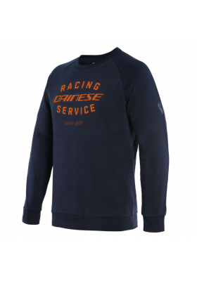 FELPA DAINESE PADDOCK SWEATSHIRT 92E BLACK-IRIS ORANGE