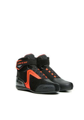 ENERGYCA AIR SHOES 628 BLACK FLUO-RED