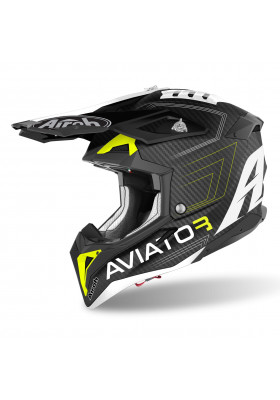 AIROH AVIATOR 3 PRIMAL YELLOW MATT (AV3P31)
