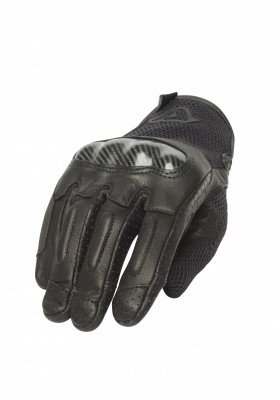 GUANTO GLOVES CE RAMSEY LEATHER 090 NERO BLACK