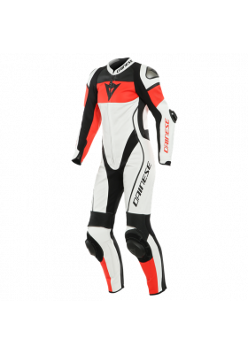 IMATRA LADY 1PC PERF. SUIT U25 WHITE FLUO-RED BLACK