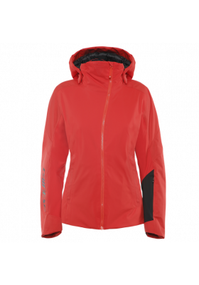 HP CRYSTAL S WMN JACKET 27E HIGH-RISK RED BLACK TAPS