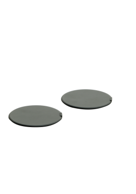 KIT48206 AGV PAINTED SCREW COVERS ORBYT 003 GREY MATT