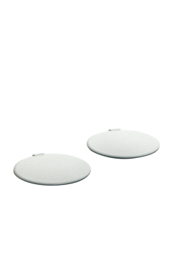 KIT48206 AGV PAINTED SCREW COVERS ORBYT 001 PEARL WHITE