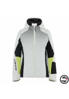 HP CRUST WMN JACKET 36E STAR WHITE BLACK TAPS ACID LIME