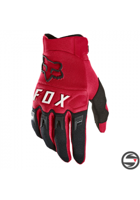 DIRTPAW GLOVE FLAME RED FOX (25796-122)