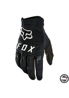 DIRTPAW GLOVE BLACK WHITE FOX (25796-018)