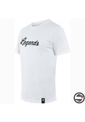 LEGENDS T-SHIRT 601 WHITE BLACK