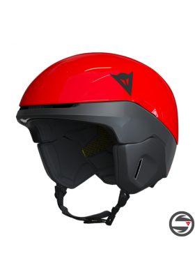 NUCLEO SKI HELMET Y86 HIGH RISK RED STRETCH LIMO
