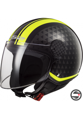 OF558 SPHERE LUX CRUSH BLACK YELLOW FLUO