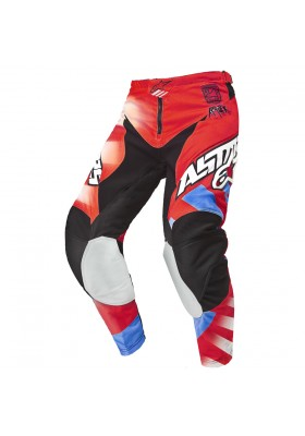 ALPINES. RACER BRAAP PANT 2015 RED BLUE - 307