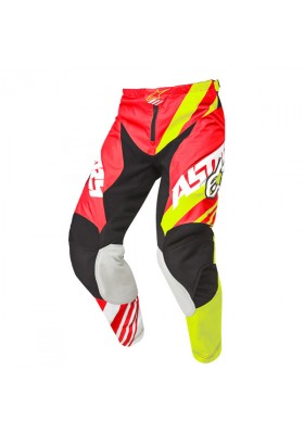 ALPINES. RACER SUPERMATIC PANTS 352 RED FLUO