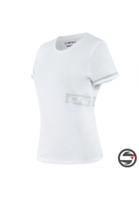 T-SHIRT PADDOCK LADY 85F WHITE GLACIER-GRAY