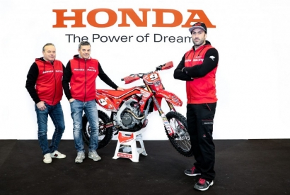 ALEX SALVINI BACK TO HONDA WITH SEMBENINI HONDA